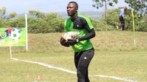 Mathare United keeper Levis Opiyo.