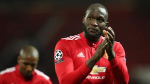 Romelu Lukaku Manchester United Champions League 2017-18