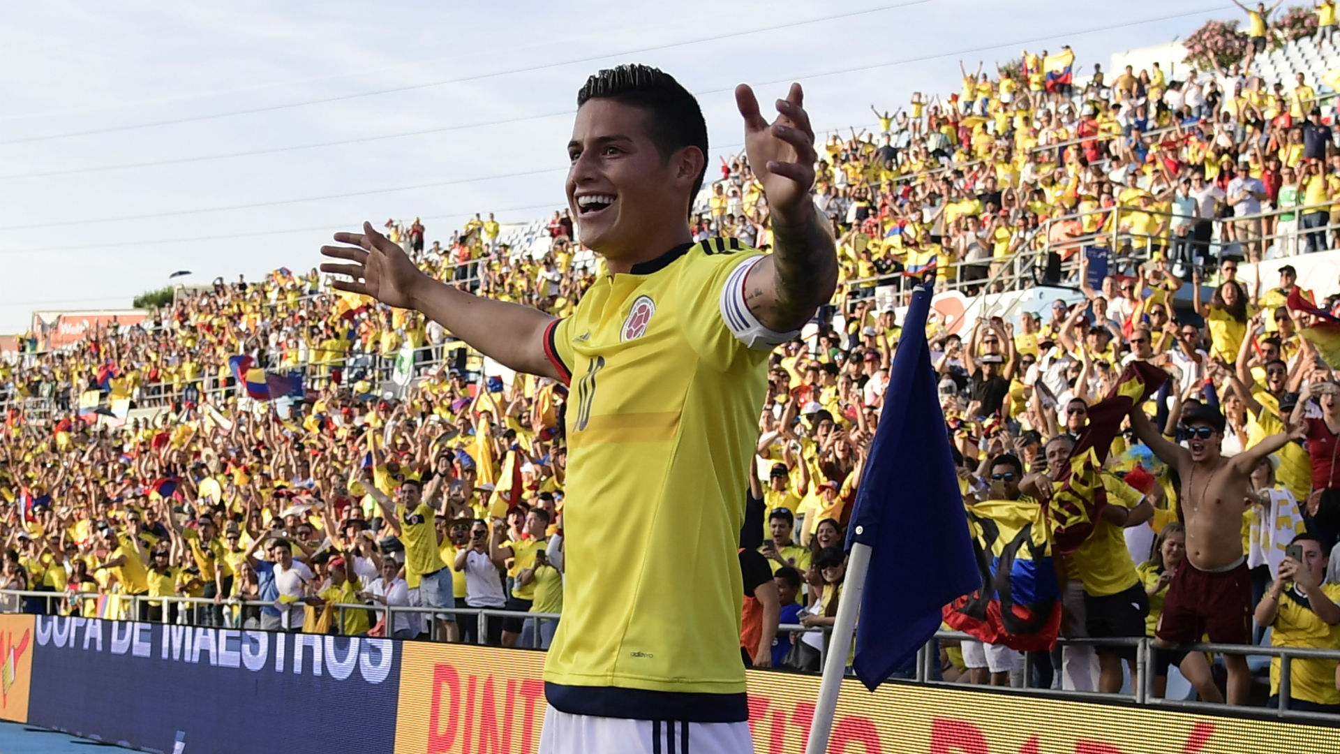 James Rodríguez gol Colombia vs Camerún Amistoso 2017