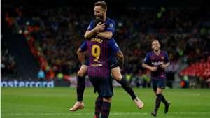 Ivan Rakitic Luis Suarez Tottenham Barcelona Champions League 03102018
