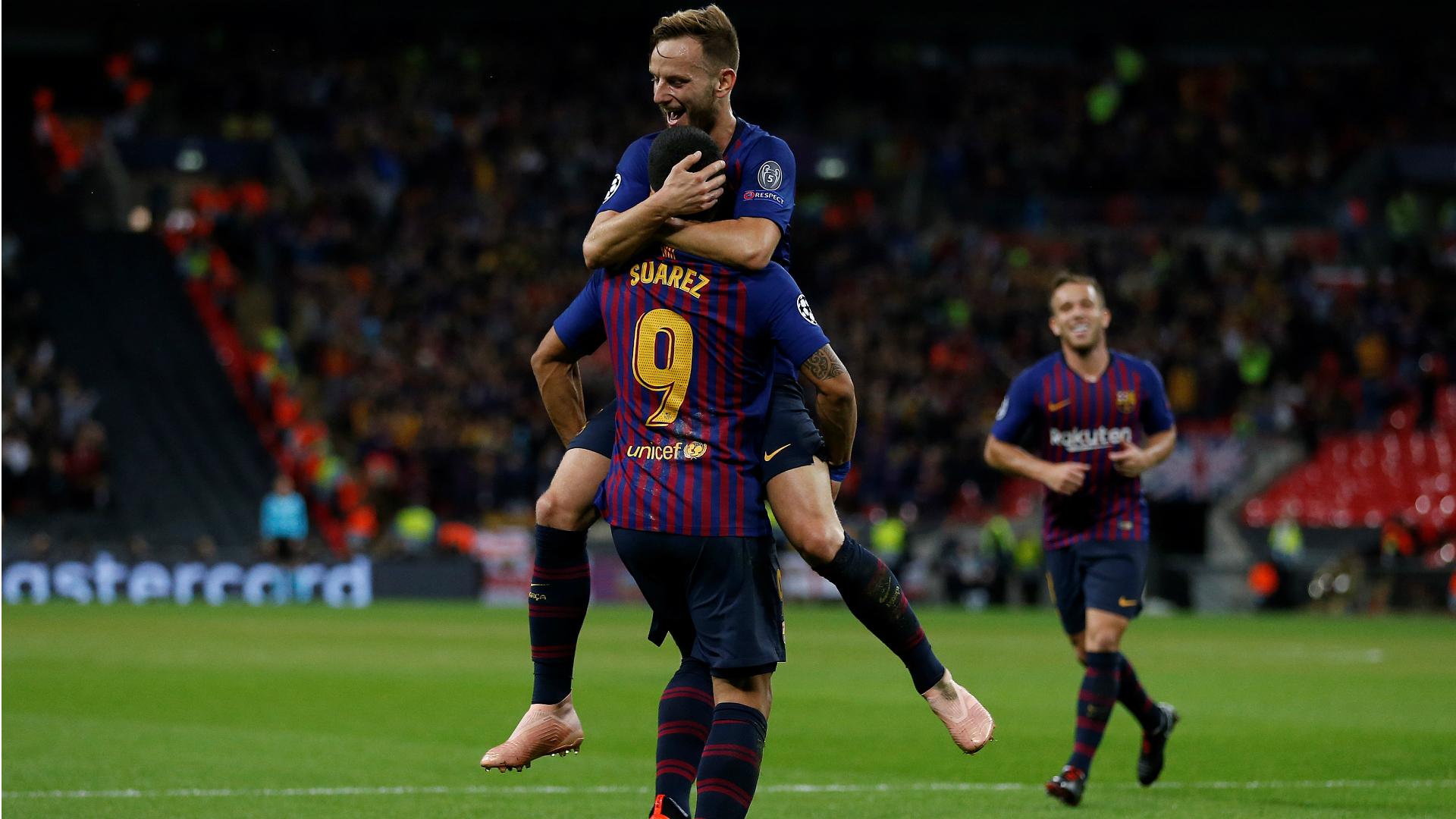 tottenham hotspur v barcelone r u00e9sum u00e9 du match  03  10  2018