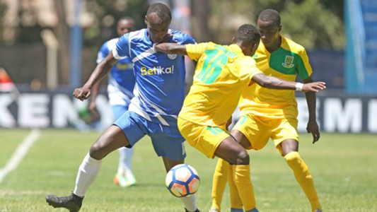 Mathare United v Sofapaka.