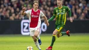 Frenkie de Jong Lex Immers Ajax - ADO Den Haag 12012018