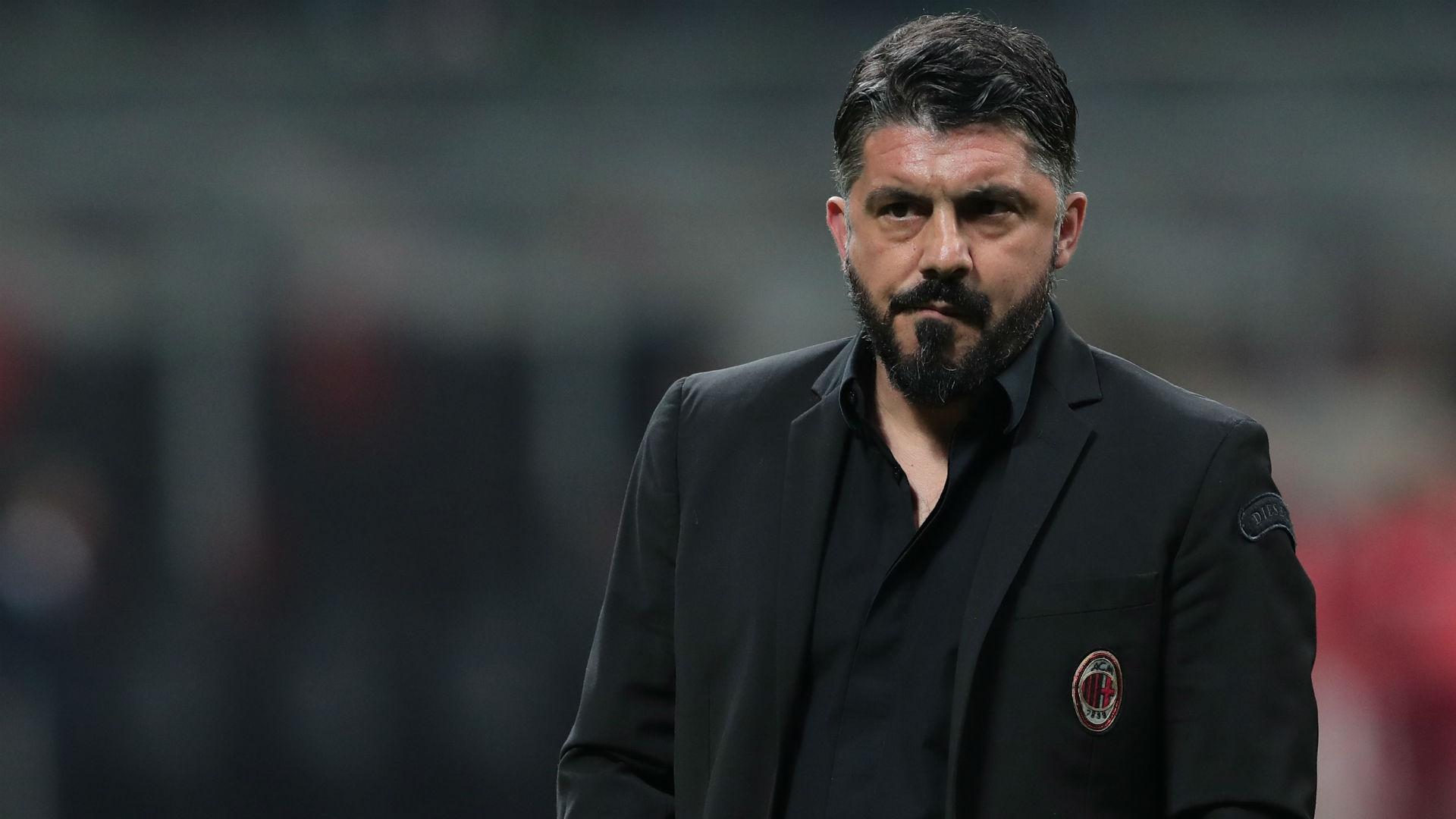 Gennaro Gattuso Milan Serie A 2019