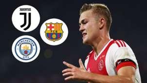 Matthijs De Ligt Ajax 2018