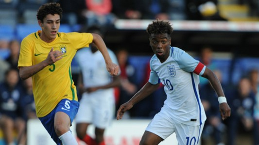 Angel Gomes England Under-17