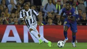 Douglas Costa, Ousmane Dembele, Juventus - Barcelona, Champions League, 09122017