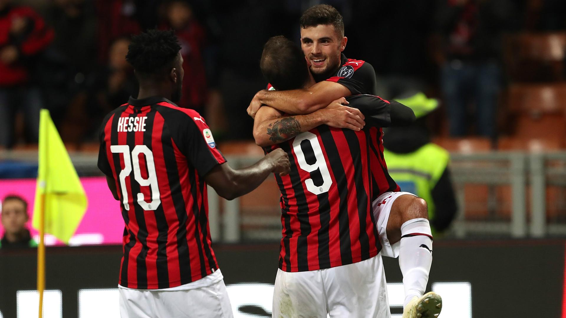 Milan celeb Sampdoria