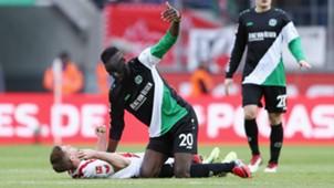 Simon Terodde Salif Sane 1 FC Koln Bundesliga 17022018
