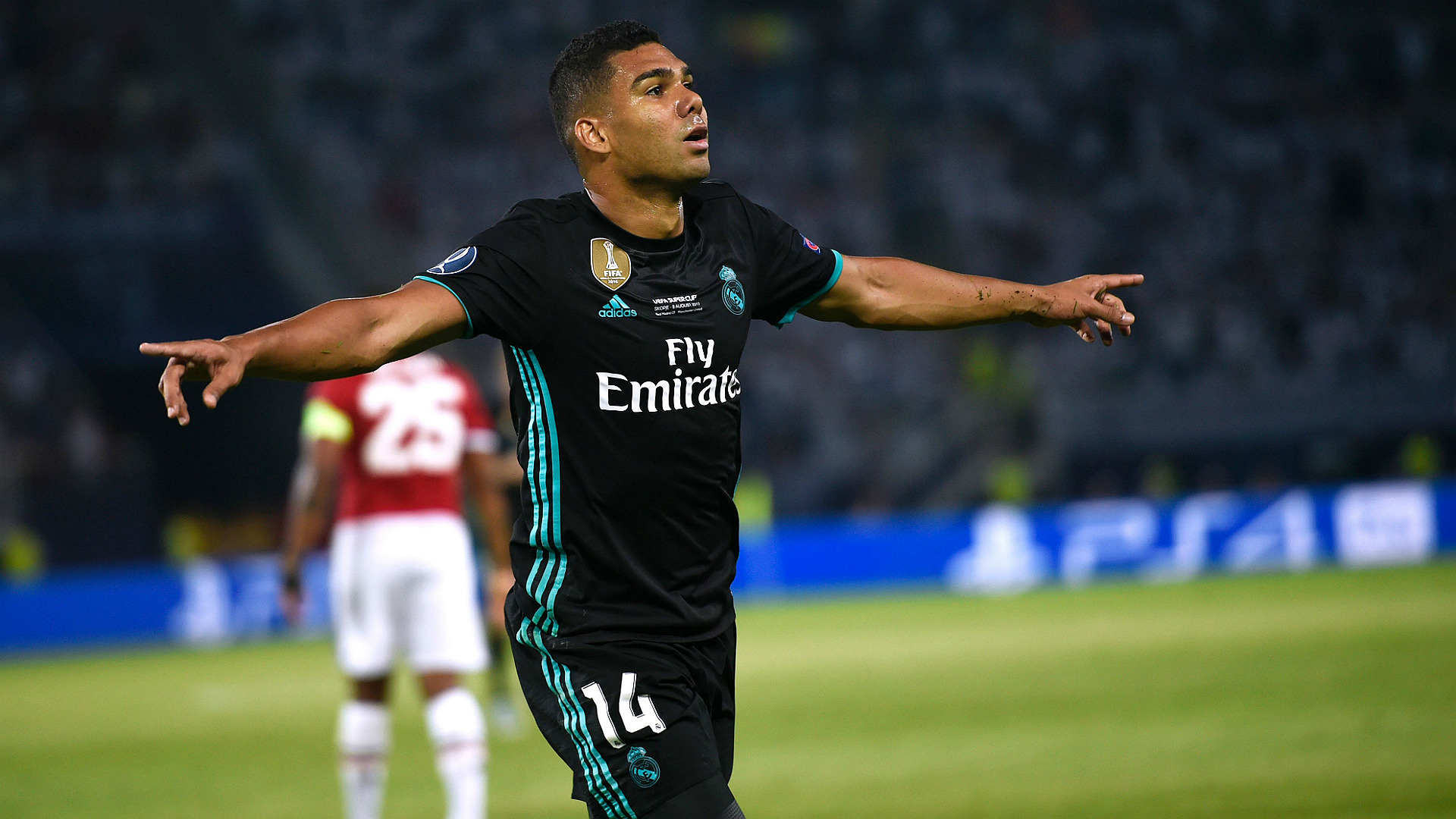 Casemiro Real Madrid Manchester United UEFA Supercup