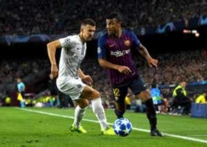 Rafinha Barcelona Inter Champions League
