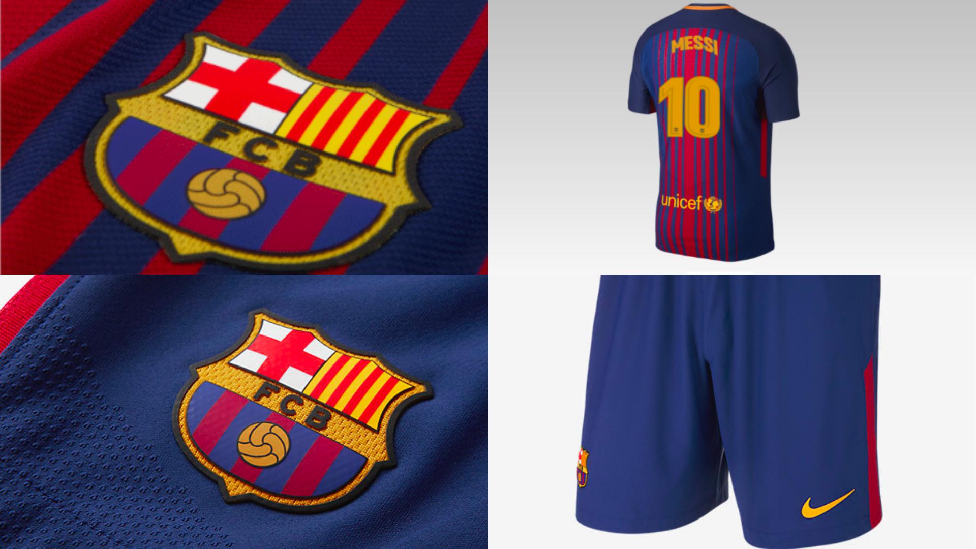 Así son las nuevas camisetas del Barcelona para la temporada 2017 ... 3714bba957973