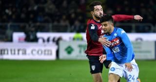 Lorenzo Insigne Paolo Faragò Cagliari Napoli Serie A
