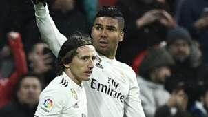 Casemiro Luka Modric Real Madrid 2018-19