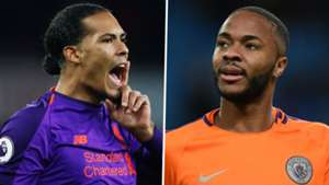Sterling & Van Dijk headline PFA Players' Player of the Year nominees