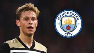 Frenkie de Jong Manchester City
