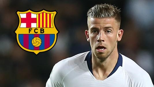 Toby Alderweireld Barcelona Tottenham