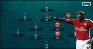 Tottenham Arsenal combine XI header