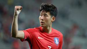 Heung-Min Son South Korea 31082017
