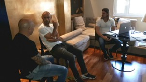 Jorge Sampaoli Javier Mascherano Reunion 09082017