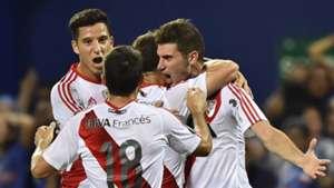 Lucas Alario Sebastian Driussi Camilo Mayada River Plate Emelec Copa Libertadores 27042017
