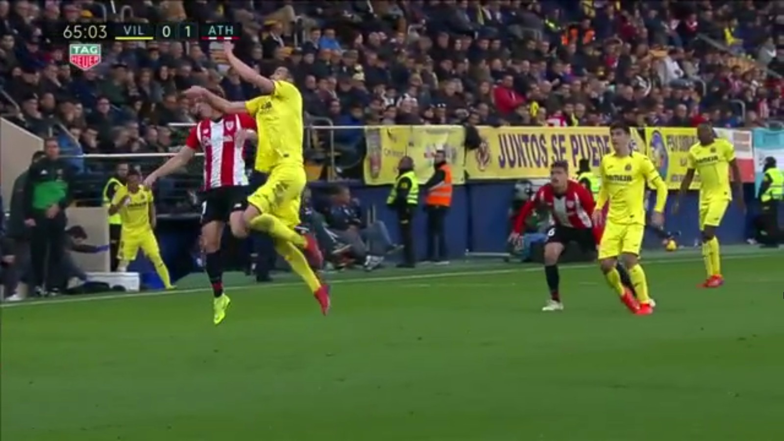 Iborra Capa Villarreal Athletic LaLiga