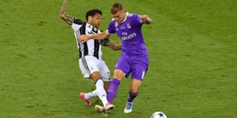 Toni Kroos Juventus Real Madrid Champions League
