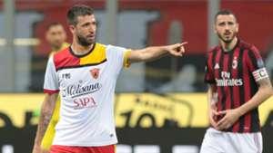 Pietro Iemmello Leonardo Bonucci Milan Benevento Serie A