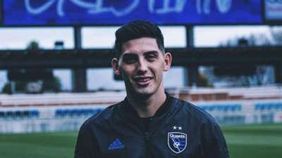 Cristian Espinoza MLS San Jose Earthquakes