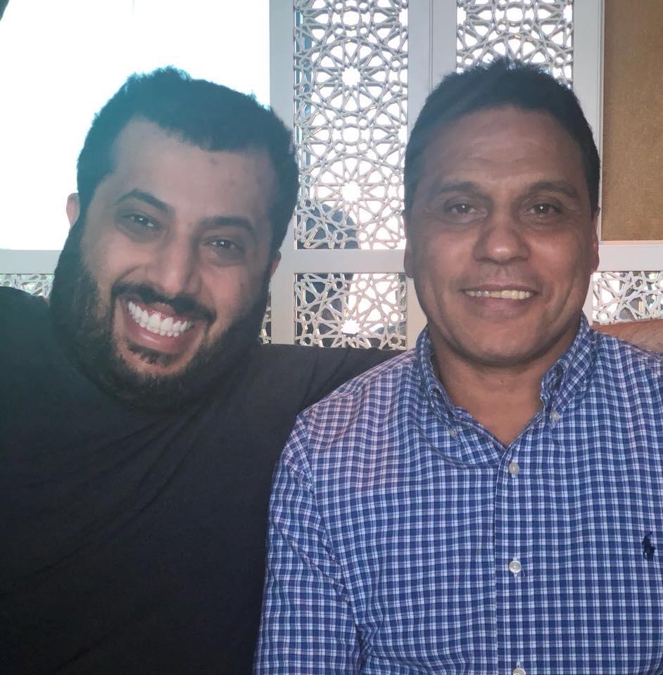 حسام البدري - تركي آل شيخ