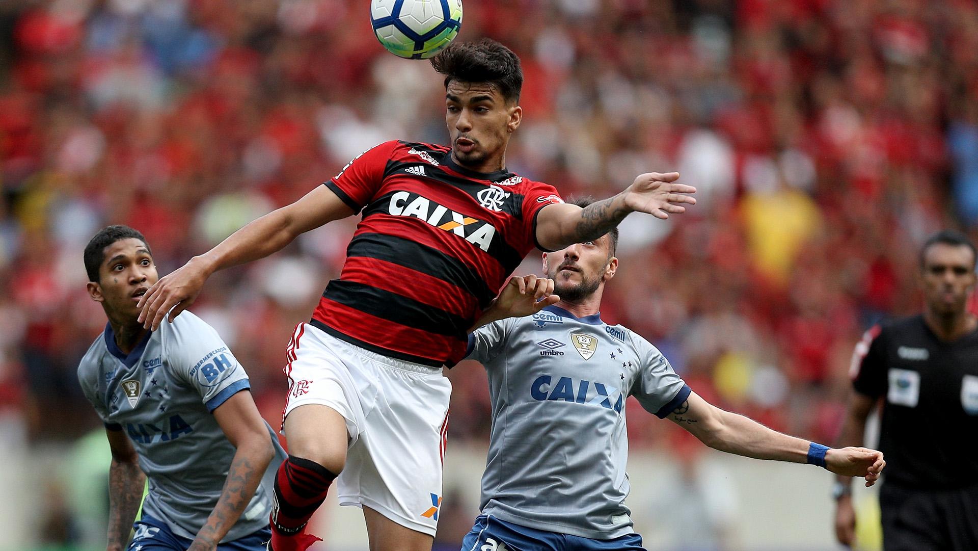 Lucas Paqueta Marcelo Hermes Flamengo Cruzeiro Brasileirao Serie A 12082018
