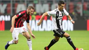 Abate Cristiano Ronaldo Milan Juventus