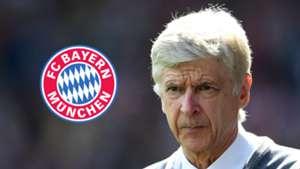 Arsene Wenger, Bayern Munich logo