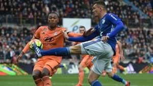 Ludovic Ajorque Marcelo Strasbourg Lyon Ligue 1 09032019