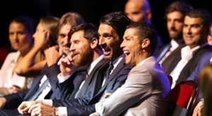 Cristiano Ronaldo Gianluigi Buffon Lionel Messi