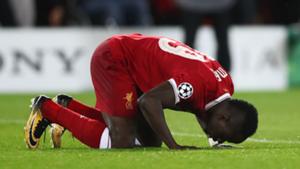 Sadio Mane Liverpool Champions League 2017-18