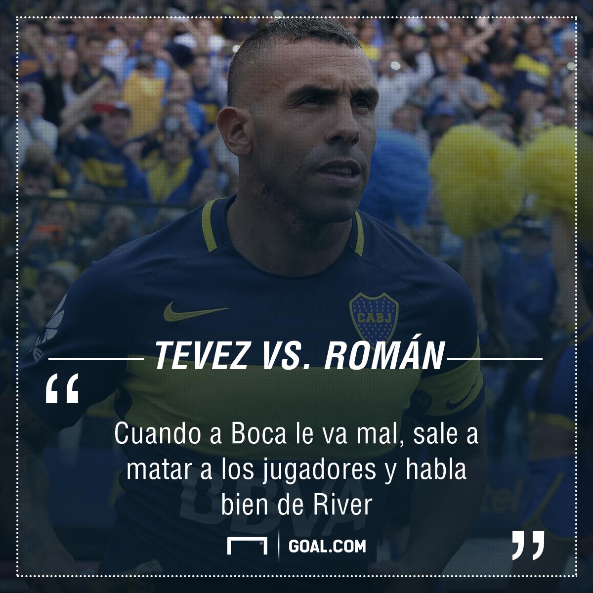 PS Tevez vs. Riquelme 150617
