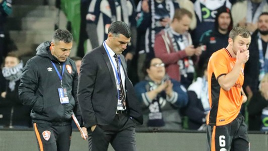 John Aloisi Melbourne Victory v Brisbane Roar A-League 30042017