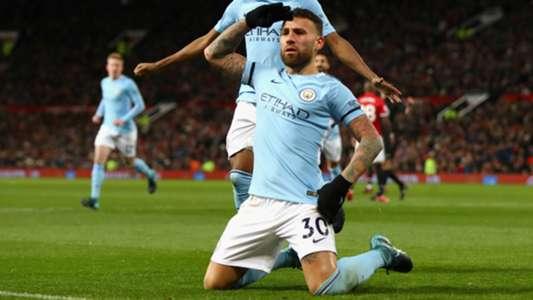 Nicolas Otamendi Manchester City United
