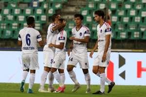 Daniel Lalhlimpuia of Delhi Dynamos FC