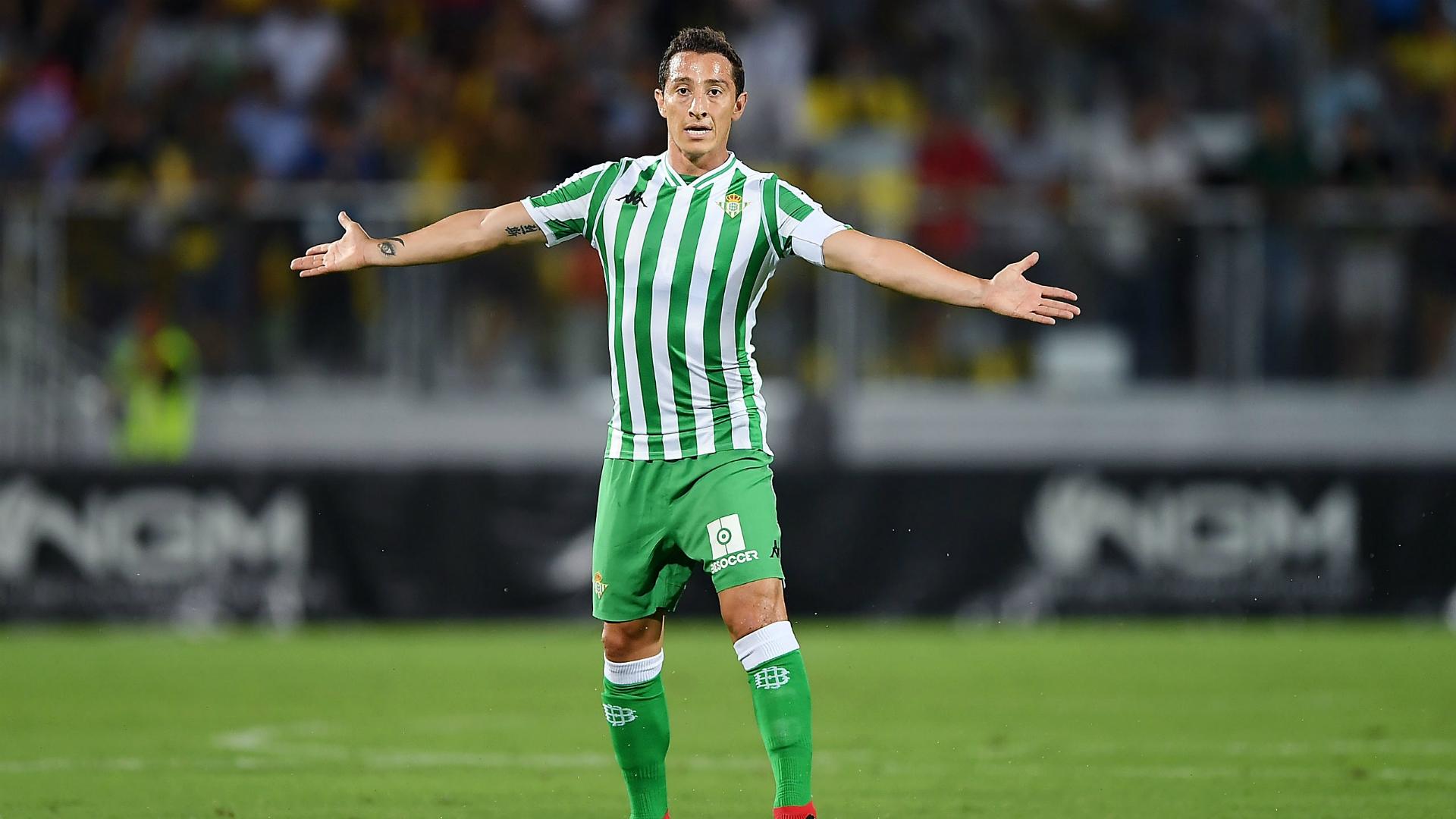 Andrés Guardado Betis