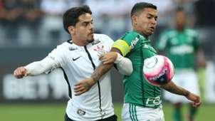Fagner e Dudu - Corinthians x Palmeiras - 24/02/2018
