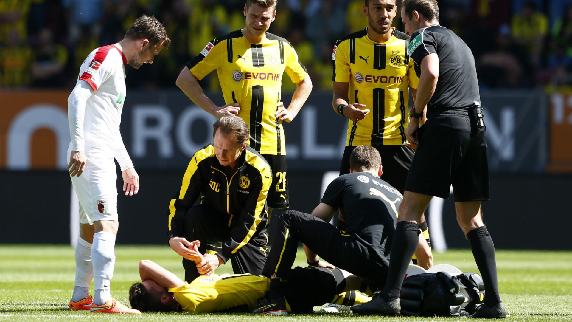Julian Weigl, Leipzig - Borussia Dortmund, 13052017
