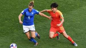 Italy China Galli Women's World Championship