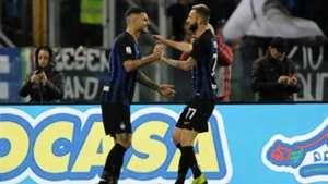 Mauro Icardi Marcelo Brozovic Lazio Inter