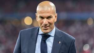 Zinedine Zidane Real Madrid 25042018