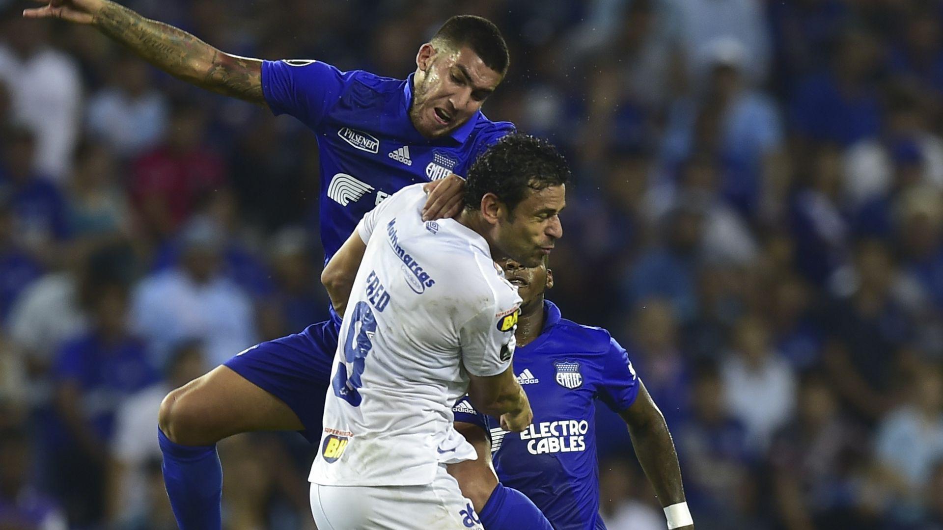 Fred Leandro Vega Emelec Cruzeiro Copa Libertadores 03042019