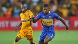 Joseph Molangoane, Kaizer Chiefs & Lyle Lakay, Cape Town City