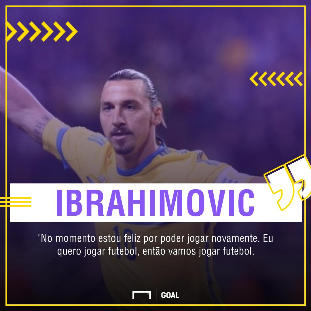 Ibrahimovic desafia a Fifa: 'Se eu quiser disputar a Copa, vou disputar'