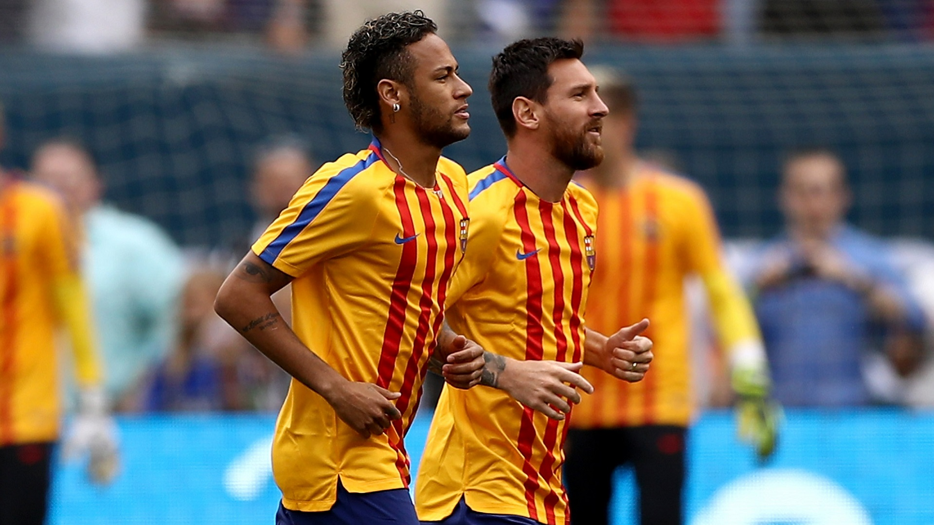 2017-07-25 Neymar Messi Barcelona